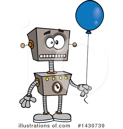 Robot Clipart #1430739 by toonaday