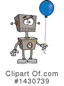 Royalty-Free (RF) Robot Clipart Illustration #1430739