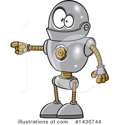 Robot Clipart #1430744 by toonaday
