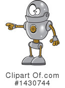 Royalty-Free (RF) Robot Clipart Illustration #1430744
