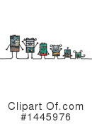 Robot Clipart #1445976 by NL shop