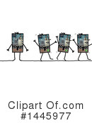 Robot Clipart #1445977 by NL shop