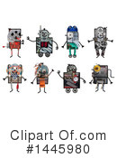 Robot Clipart #1445980 by NL shop