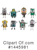 Robot Clipart #1445981 by NL shop