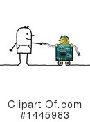 Robot Clipart #1445983 by NL shop