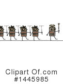 Robot Clipart #1445985 by NL shop