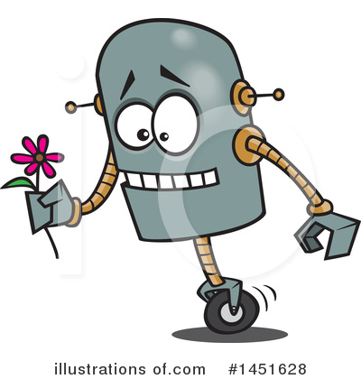 Robot Clipart #1451628 by toonaday