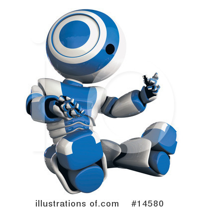 Robot Clipart #14580 by Leo Blanchette