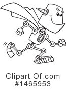 Royalty-Free (RF) Robot Clipart Illustration #1465953