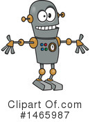 Royalty-Free (RF) Robot Clipart Illustration #1465987