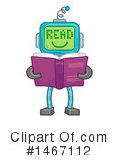 Robot Clipart #1467112 by BNP Design Studio