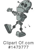 Royalty-Free (RF) Robot Clipart Illustration #1473777