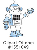 Robot Clipart #1551049 by Johnny Sajem