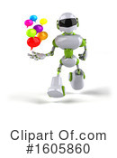 Robot Clipart #1605860 by Julos