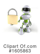 Robot Clipart #1605863 by Julos