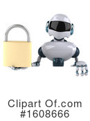 Robot Clipart #1608666 by Julos