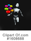 Robot Clipart #1608688 by Julos