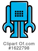 Robot Clipart #1622798 by Lal Perera