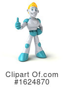 Robot Clipart #1624870 by Julos