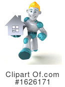 Robot Clipart #1626171 by Julos