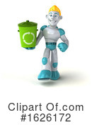 Robot Clipart #1626172 by Julos