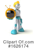 Robot Clipart #1626174 by Julos