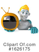 Robot Clipart #1626175 by Julos
