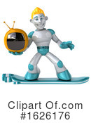 Robot Clipart #1626176 by Julos
