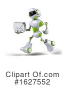 Robot Clipart #1627552 by Julos