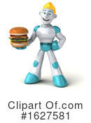 Robot Clipart #1627581 by Julos