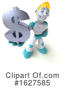 Robot Clipart #1627585 by Julos