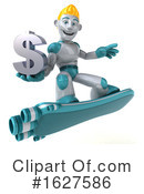 Robot Clipart #1627586 by Julos