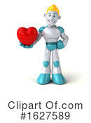 Robot Clipart #1627589 by Julos