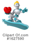 Robot Clipart #1627590 by Julos