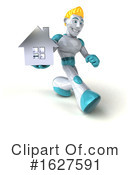Robot Clipart #1627591 by Julos