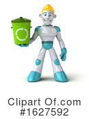 Robot Clipart #1627592 by Julos