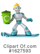 Robot Clipart #1627593 by Julos