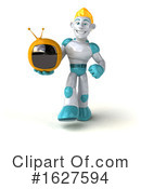 Robot Clipart #1627594 by Julos