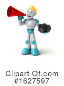 Robot Clipart #1627597 by Julos