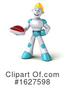 Robot Clipart #1627598 by Julos