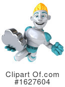 Robot Clipart #1627604 by Julos