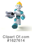 Robot Clipart #1627614 by Julos