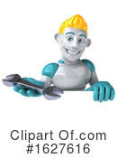 Robot Clipart #1627616 by Julos