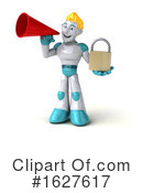 Robot Clipart #1627617 by Julos