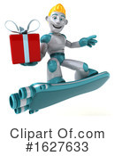 Robot Clipart #1627633 by Julos