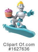 Robot Clipart #1627636 by Julos