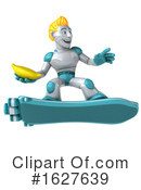 Robot Clipart #1627639 by Julos