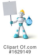 Robot Clipart #1629149 by Julos