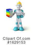 Robot Clipart #1629153 by Julos