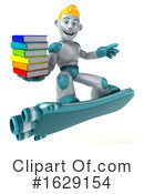 Robot Clipart #1629154 by Julos
